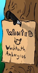 watchtooth wanted poster